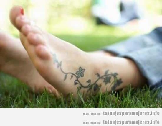 Pie | Tatuajes para mujeres | Blog de fotos de tattoos para chicas ...