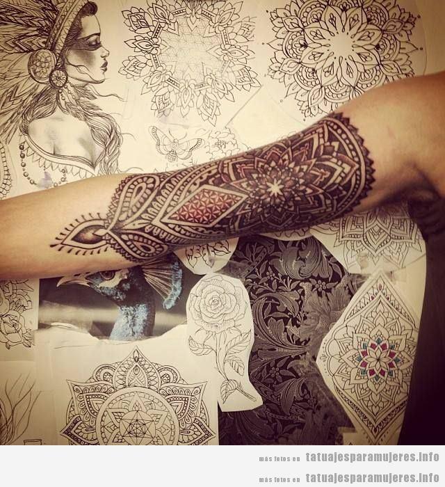 Tatuajes Para Mujeres En El Brazo 30 Diseños Espectaculares Para