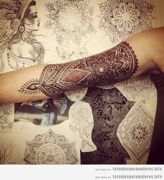 pliegue tatuado