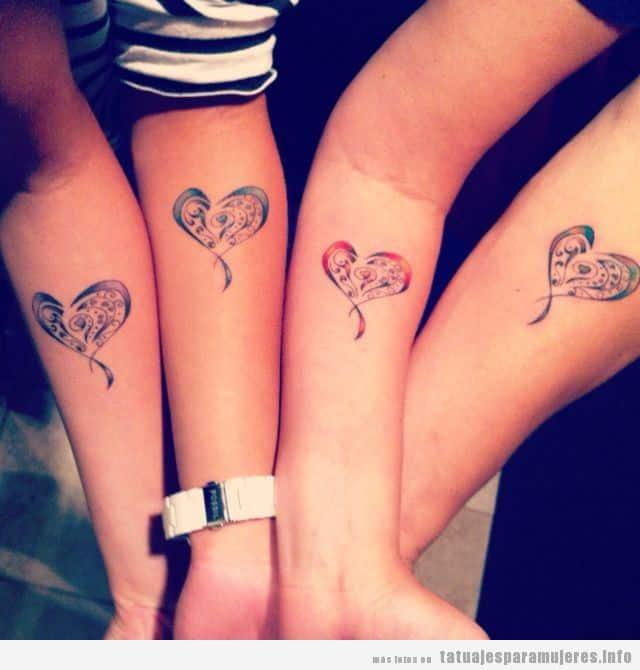 Tatuajes Pequenos Para 3 Hermanas