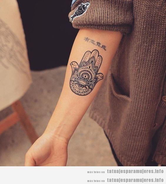 Tatuajes De La Hamsa O Mano De Fatima Para Mujer Tatuajes Para Mujeres