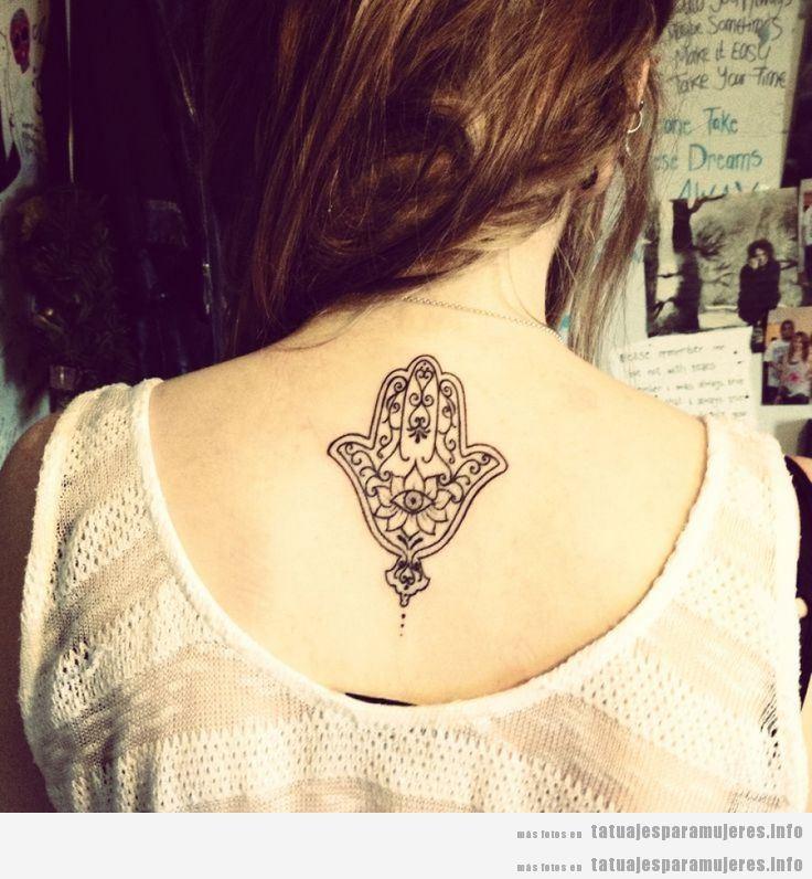 Tatuajes De La Hamsa O Mano De Fátima Para Mujer Tatuajes Para Mujeres
