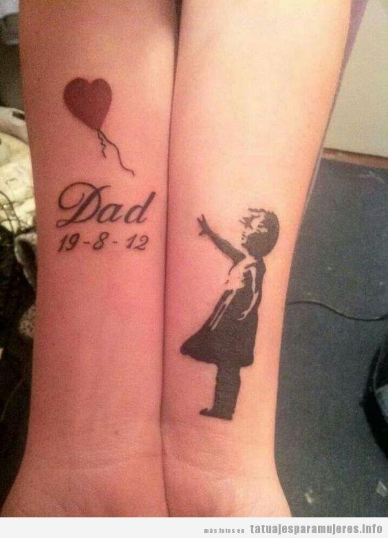Tatuajes conmemorativos ser querido fallecido 4