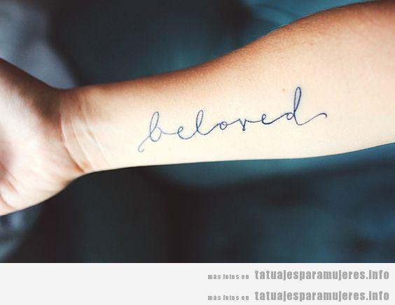 Tipos De Letras Delicadas Y Elegantes Para Tatuajes Para Mujer