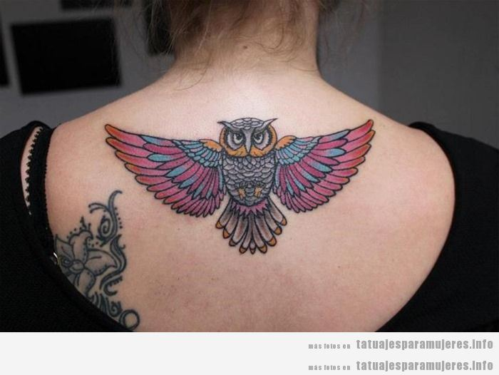 Tatuajes De Búhos Y Lechuzas Para Mujer Tatuajes Para Mujeres