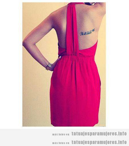Frases para tatuajes para mujeres en español 6