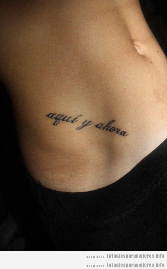Frases para tatuajes para mujeres en español