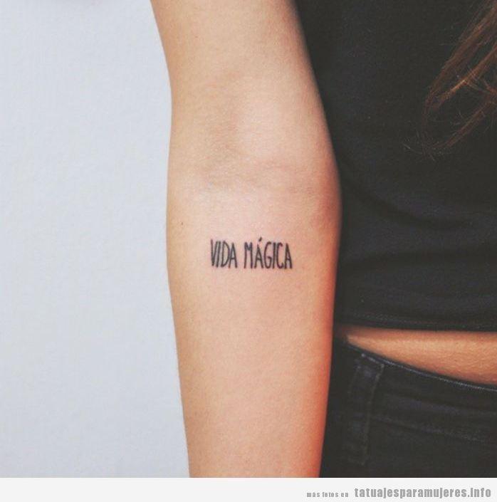 Letras Y Frases Archivos Tatuajes Para Mujeres