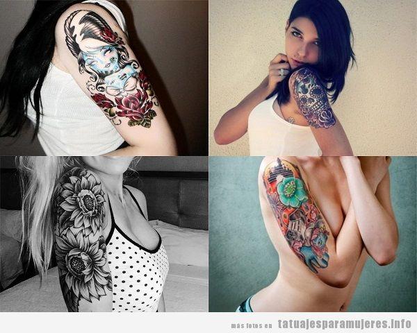 Tatuajes Brazo Entero Mujer Fabulous Tatuaje Temporal Brazo