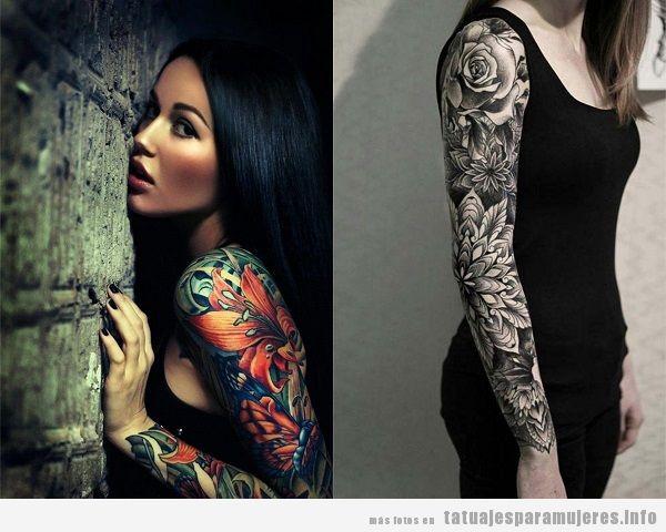 Tatuajes Para Mujeres En El Brazo 30 Disenos Espectaculares Para
