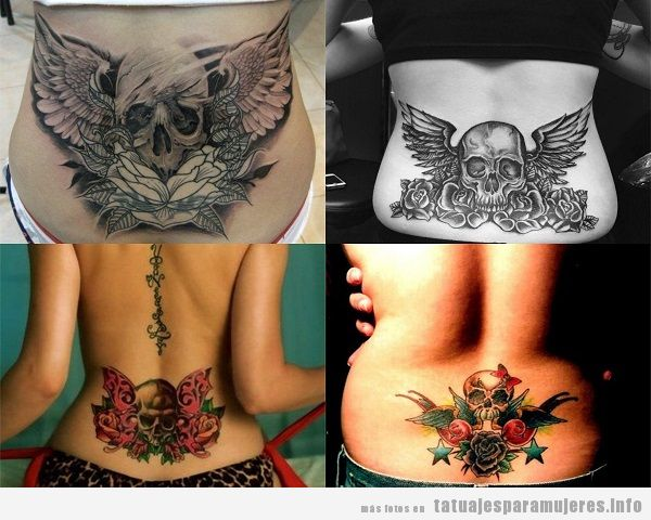 Tatuajes En La Zona Lumbar Para Mujer 30 Disenos Sensuales Y