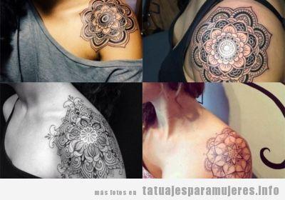 Tatuajes Femeninos En El Hombro Excellent Lzc Tatuaje Temporal