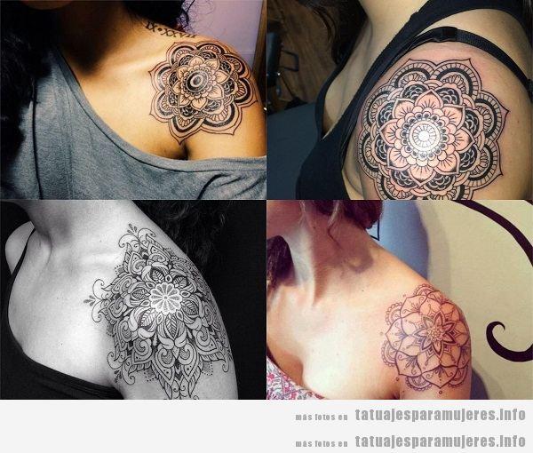 Tatuajes Para Mujeres En El Hombro 40 Diseños Sensuales Y