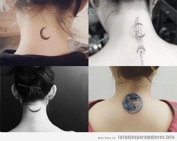 40 Preciosos Tatuajes En La Nuca Para Mujer Tatuajes Para Mujeres