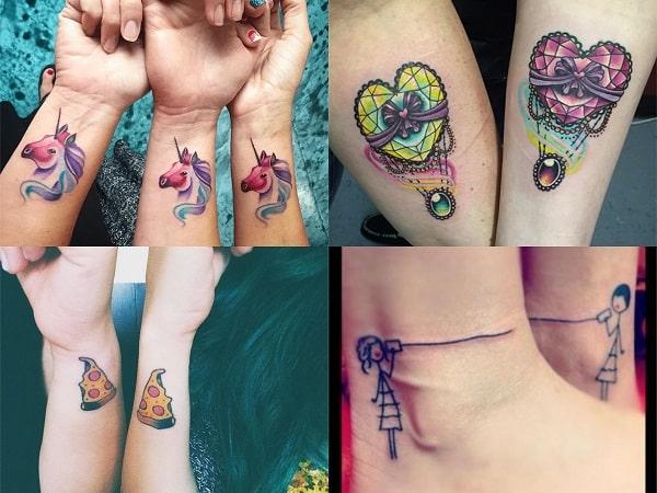 Tatuajes Amigas tatuajes-amigas-originales-2 • tatuajes para mujeres
