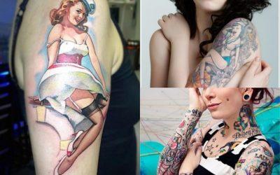 Tatuajes pin-up para mujeres: diseños perfectos para chicas sensuales