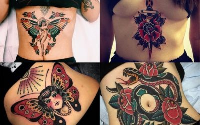 Tatuajes en el abdomen para mujer: +20 diseños de flores, mandalas, animales y palabras