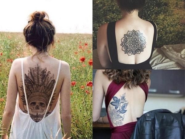 Vestidos para lucir tatuajes en la espalda