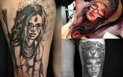 Tatuajes de Mujeres Guerreras: +20 Impresionantes Diseños Llenos de Fuerza 💪