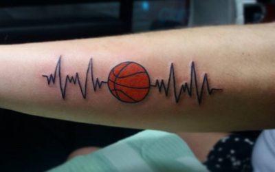 Tatuajes de baloncesto