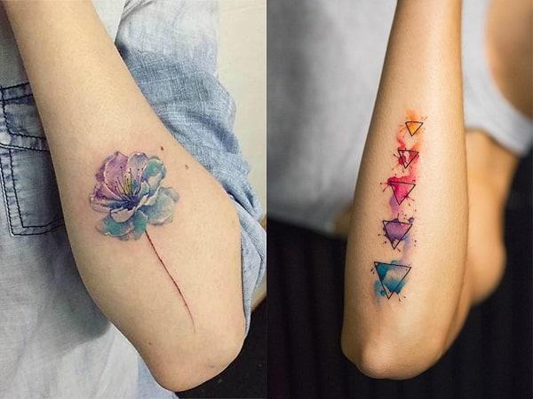 Tatuajes De Acuarela Para Mujer 35 Diseños Llenos De Color Y Arte