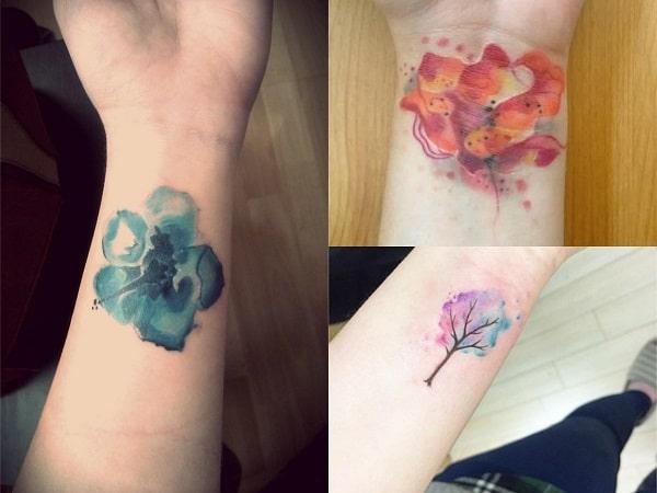 Tatuajes Acuarela Mujer Muneca Tatuajes Para Mujeres