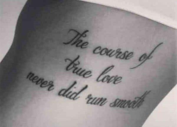 Tatuajes con frases de amor 5