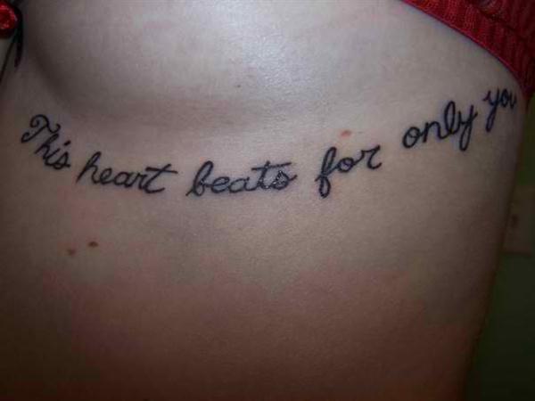 Tatuajes con frases de amor 4