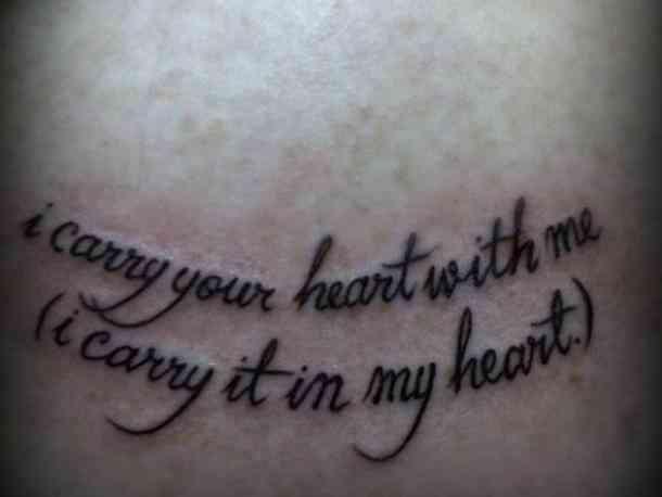 Tatuajes con frases de amor 19