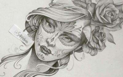 Dibujos a lápiz para tatuajes