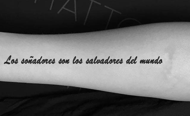 Frases bonitas tatuajes 3