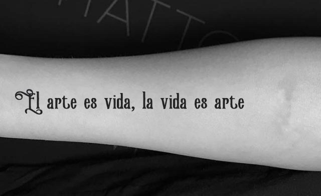 Frases bonitas tatuajes 5