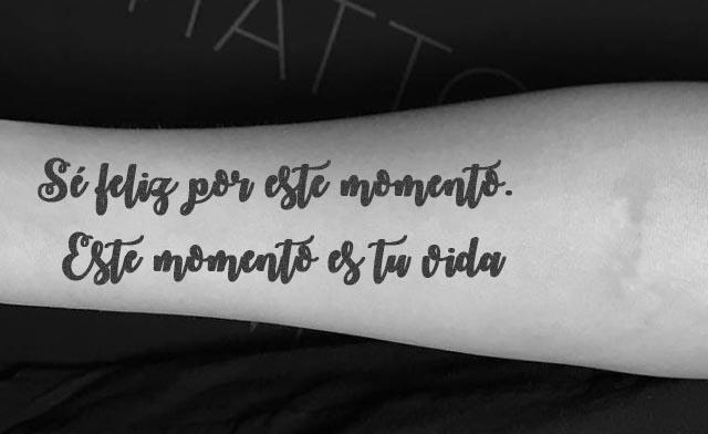 Frases bonitas tatuajes 6