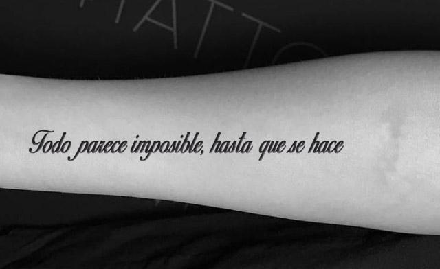 Frases para Tatuajes en Español muy Bonitas