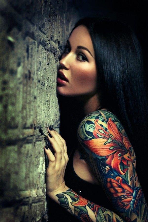 Tatuaje mujer brazo