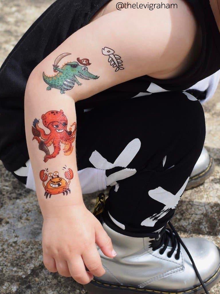 Tatuajes temporales para niños o calcomanías 10