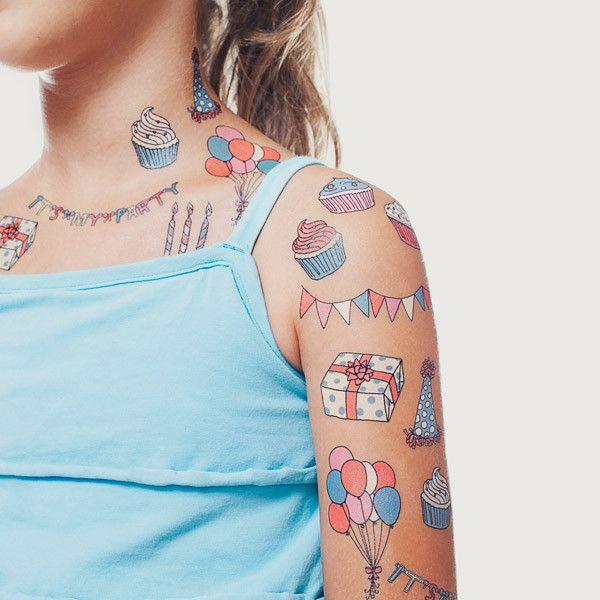 Tatuajes temporales para niños o calcomanías 14