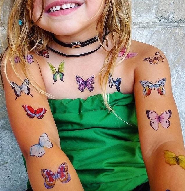 Tatuajes temporales para niños o calcomanías