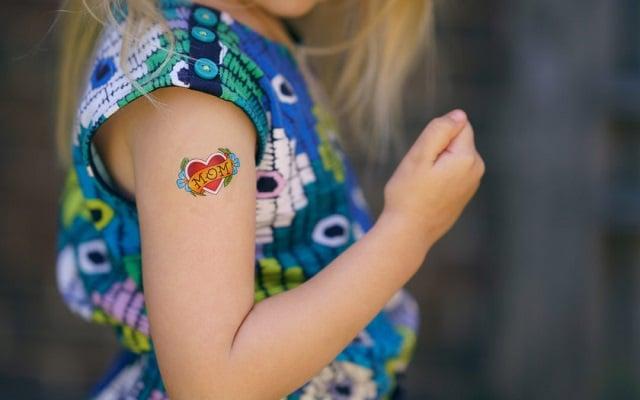 Tatuajes temporales para niños o calcomanías 13