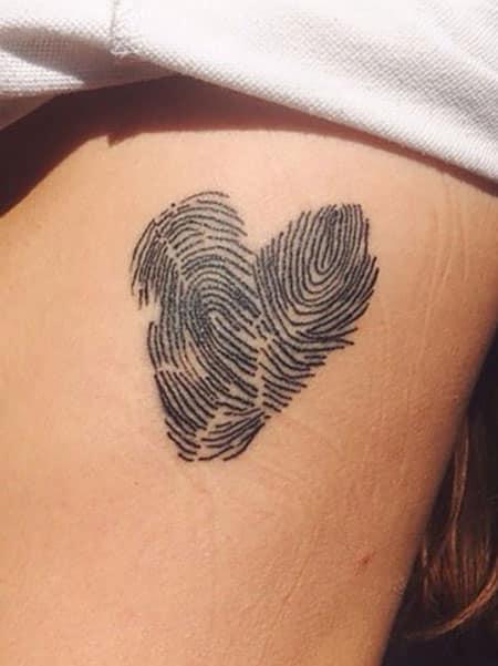 Tatuajes mujeres 2019 huellas