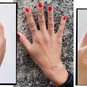 Tatuajes mujer símbolos dedos 3