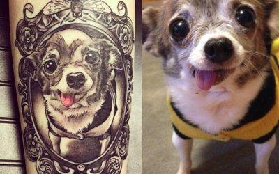 ¿Has pensado en tatuarte a tu mascota?