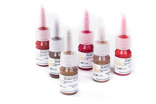 Pigmentos de micropigmentación